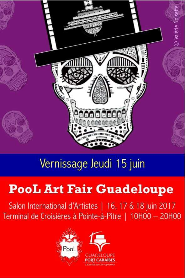 vernissage POOL ART FAIR 971 Juin 2017