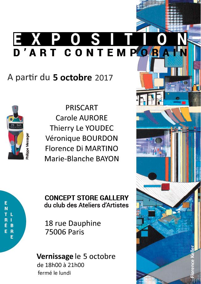 Prochains v nements exposition d art contemporain paris 5 10 2017 - Expo paris octobre 2017 ...