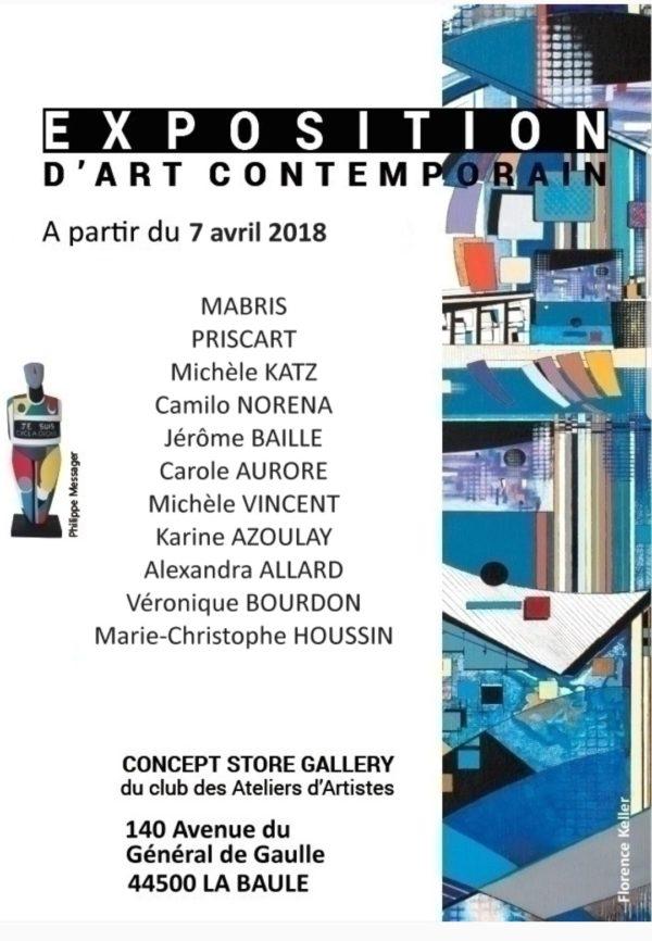 exposition LA BAULE avril 2018