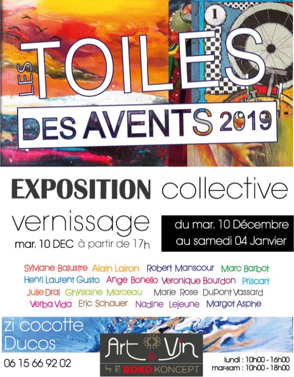 LES TOILES DES AVENTS2019